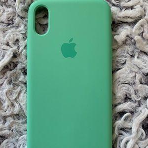 Apple iPhone X/XS phone case - Mint
